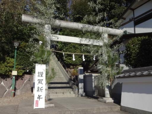 須賀神社・初詣1月2日