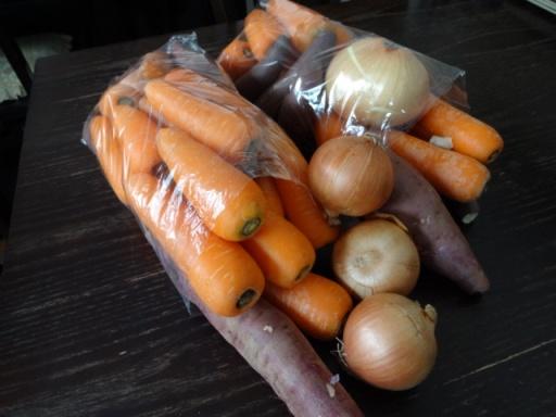 ロピア野菜詰め放題