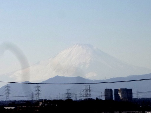 横根稲荷富士山