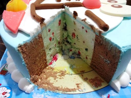 ドラえもんアイスケーキ