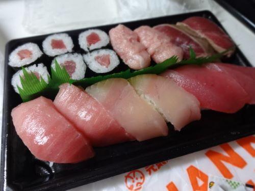 魚べいマグロセット